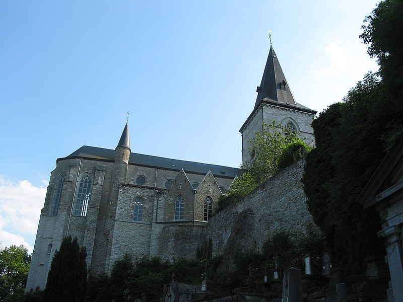 Limbourg,  the church of  St-Georges  (end of the XVth century).