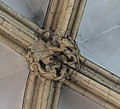 Lincoln Cathedral Morning Chapel, 3rd boss from West (39362588595).jpg