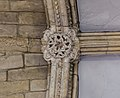 Lincoln Cathedral west entrance, eastern boss (40263402291).jpg