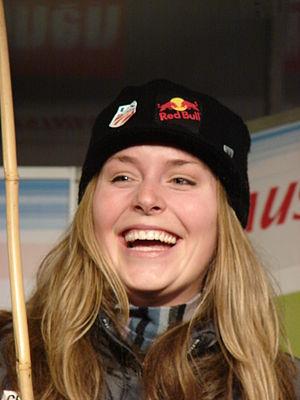 2007–08 FIS Alpine Ski World Cup - Image: Lindsey Kildow