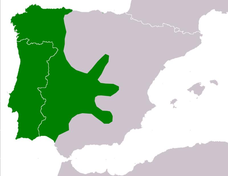 Lissotriton boscai range Map.png
