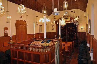 Synagogues of Gibraltar - Inside Little Synagogue, Irish Town, Gibraltar