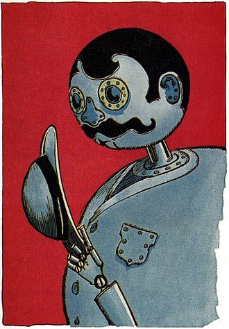 Tik-Tok (Oz) - Tik-Tok in Little Wizard Stories of Oz, 1914.