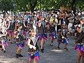Little samba girls from Império do Papagaio at Helsinki Samba Carnaval 2019.jpg