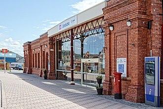 Llandudno railway station - Station Entrance