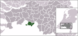 Location of Baarle-Nassau