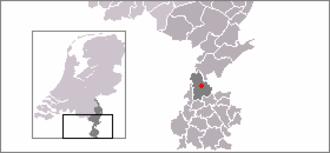 Limbricht - Image: Locatie Limbricht