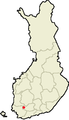 Location of Humppila in Finland.png