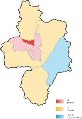 Location of Luyang District in Hefei.png