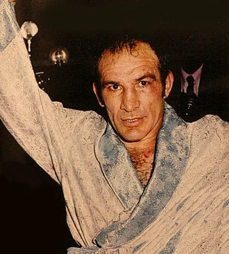"""Argentines of European descent - Nicolino Locche (1939–2005) was a professional boxer born in Tunuyán, Mendoza from Italian parents. He was nicknamed """"the Untouchable""""."""