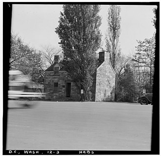 Lockkeeper's House, C & O Canal Extension - Image: Lock Keeper's House, Seventeenth Street & Constitution Avenue 025996pv