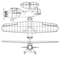 Lockheed Air Express 3-view Aero Digest March 1929.png