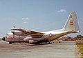Lockheed C-130B 10303 rcaf 435 Sq LGW 23.07.66.jpg