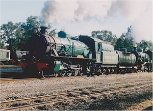 Hotham Valley Railway - W945 at Pinjarra