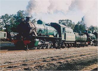 Hotham Valley Railway - W945 at Pinjarra