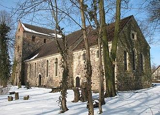 Löwenberger Land - Image: Loewenberg church