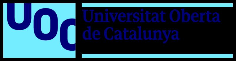 Logotipo do UOC com link externo para exibir a página da Revista no indexador