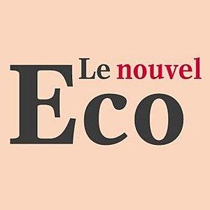 Le Nouvel Économiste - Image: Logo nouvel eco