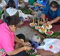 Loi krathong rafts Ban Khung Taphao..jpg