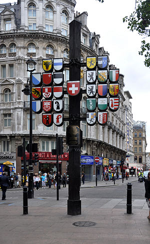 London Swiss Court Swiss coats of arms.jpg