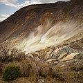 Long Exposure of Sulfur Vents - Hakone (40432442470).jpg
