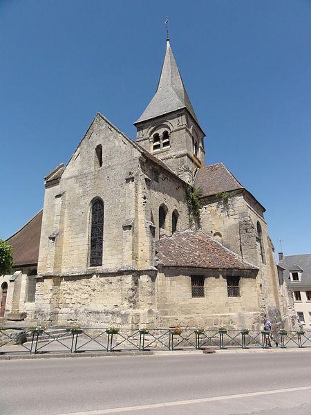 Longueval-Barbonval (Aisne) église de Longueval