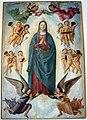 Lorenzo costa, assunta e coro d'angeli, 1480-90 ca., da s. maria assunta in monteveglio, 01.jpg