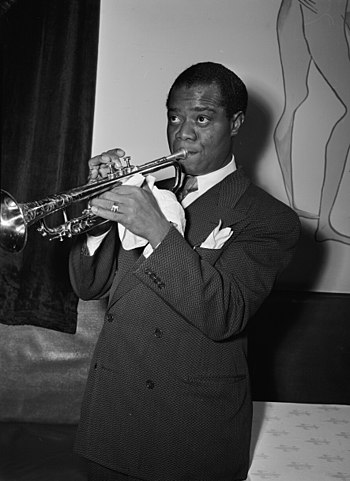 English: Louis Armstrong