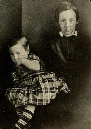 Philip Hamilton (the second) - Photograph of Hamilton's sons, Allan and Louis, 1851