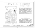 Lovell (Health) House, 4616 Dundee Drive, Los Angeles, Los Angeles County, CA HABS CAL,19-LOSAN,66- (sheet 1 of 9).png