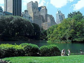 Malachi Martin - Central Park, New York
