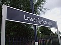 Lower Sydenham stn signage.JPG