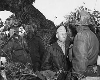 Victor H. Krulak - Lt. Gen Krulak in a training exercise at Camp Pendleton, May 7, 1964
