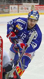 Luca Cunti Swiss professional ice hockey forward