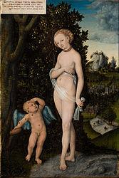 Venus with Cupid Stealing Honey