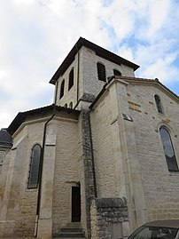 Lucenay - Clocher église (sept 2018).jpg