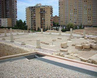 Lucentum - The Roman forum of Lucentum