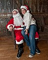 Lucky Gal and Bad Santa, at Jamian's Bar, Red Bank, New Jersey (4217532530).jpg