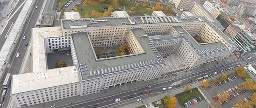 Luftaufnahme Detlev-Rohwedder Haus