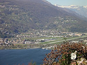 Agno, Ticino - Agno and Lugano Airport
