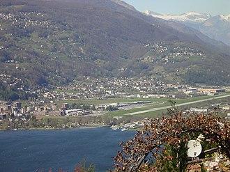 Agno, Ticino - Agno and Lugano Airport