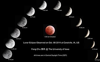 October 2014 lunar eclipse - Image: Lunar Eclipse Windchu