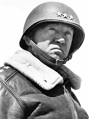 Lieutenant General Patton during World War II Luxembourg - General Patton (12744889054).jpg