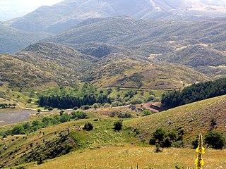 mountain in Greece