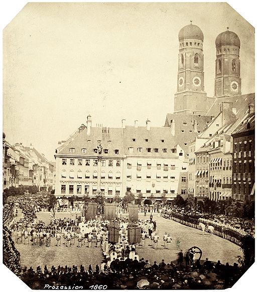 München Fronleichnam 1860