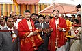 M. Venkaiah Naidu and the Chief Minister of Andhra Pradesh, Shri N. Chandra Babu Naidu inaugurating the SRM University, in Amaravati, Andhra Pradesh.jpg