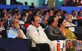 M. Venkaiah Naidu and the Union Minister for Defence, Shri Manohar Parrikar at the inauguration of the 47th International Film Festival of India (IFFI-2016), in Panaji, Goa.jpg