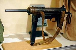 M3冲锋枪