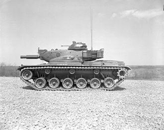 M60 Patton - M60A1E1 tank