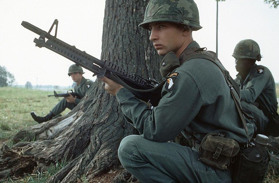 M60 101st Airborne Division Exercise 1972